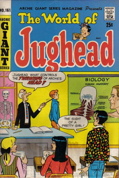 Cover for Archie Giant Series Magazine (Archie, 1954 series) #161