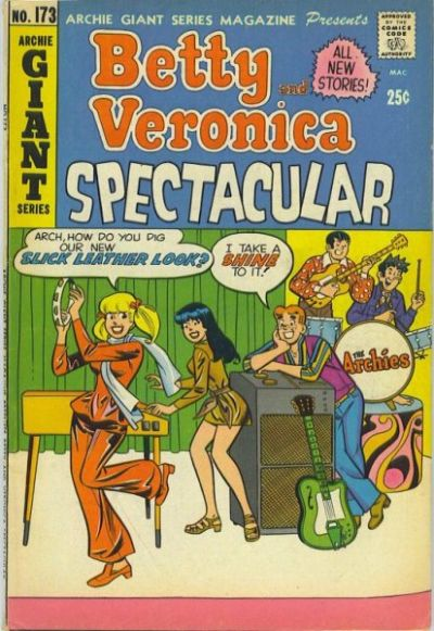 Cover for Archie Giant Series Magazine (Archie, 1954 series) #173