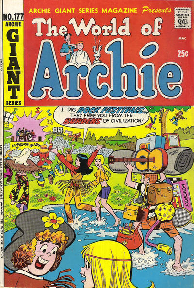 Cover for Archie Giant Series Magazine (Archie, 1954 series) #177