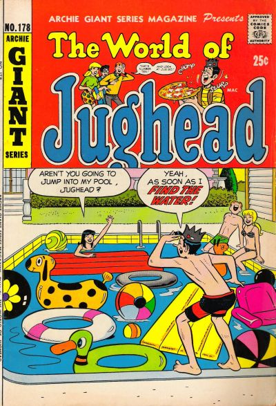 Cover for Archie Giant Series Magazine (Archie, 1954 series) #178