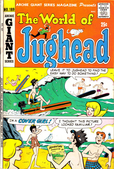 Cover for Archie Giant Series Magazine (Archie, 1954 series) #189