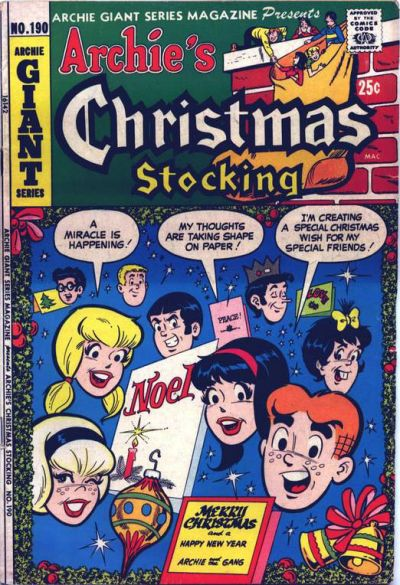 Cover for Archie Giant Series Magazine (Archie, 1954 series) #190