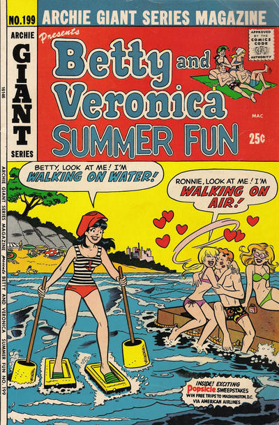 Cover for Archie Giant Series Magazine (Archie, 1954 series) #199