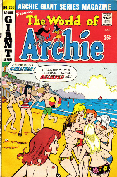 Cover for Archie Giant Series Magazine (Archie, 1954 series) #200