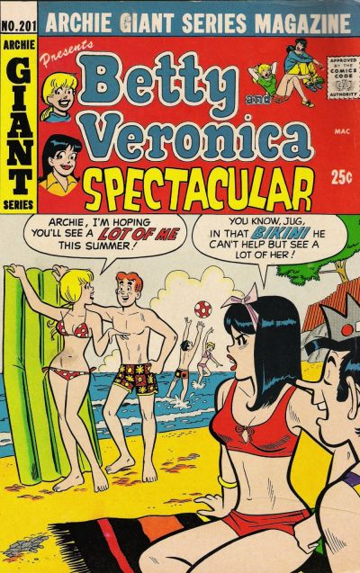 Cover for Archie Giant Series Magazine (Archie, 1954 series) #201