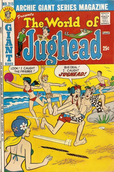 Cover for Archie Giant Series Magazine (Archie, 1954 series) #215