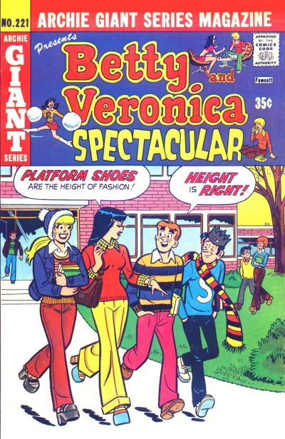 Cover for Archie Giant Series Magazine (Archie, 1954 series) #221