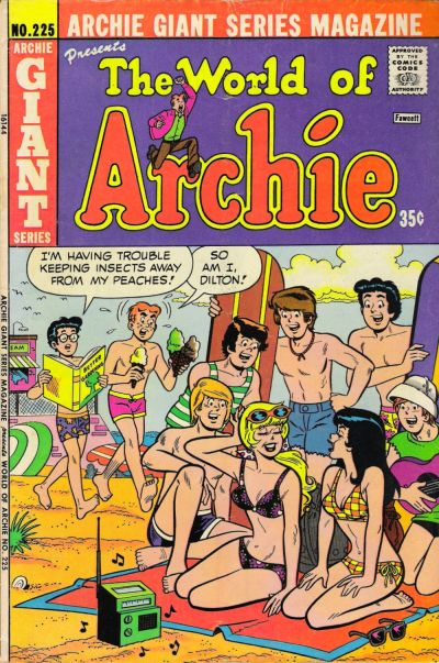 Cover for Archie Giant Series Magazine (Archie, 1954 series) #225