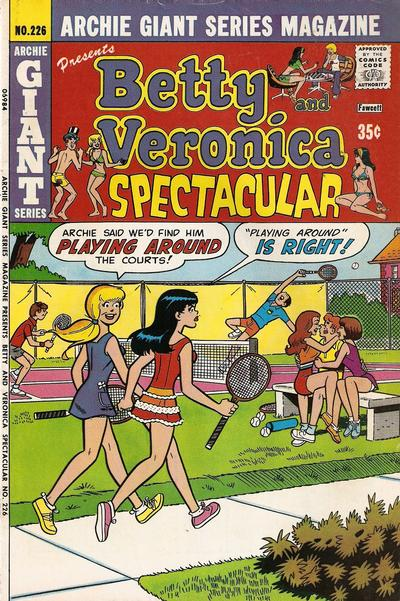 Cover for Archie Giant Series Magazine (Archie, 1954 series) #226