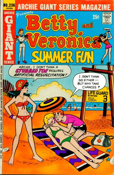 Cover for Archie Giant Series Magazine (Archie, 1954 series) #236