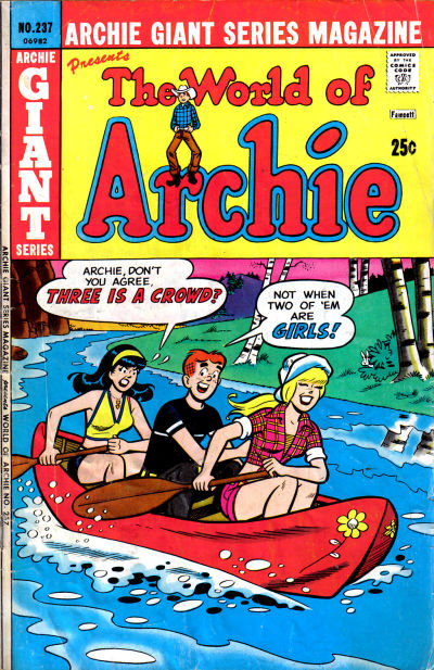 Cover for Archie Giant Series Magazine (Archie, 1954 series) #237