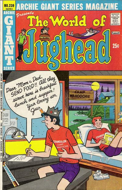 Cover for Archie Giant Series Magazine (Archie, 1954 series) #239