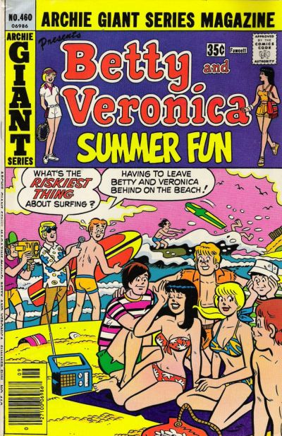 Cover for Archie Giant Series Magazine (Archie, 1954 series) #460