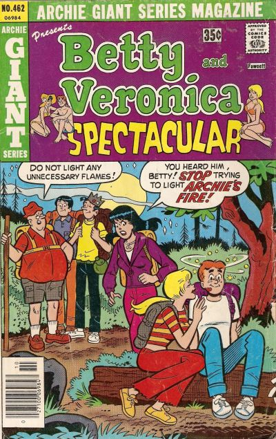 Cover for Archie Giant Series Magazine (Archie, 1954 series) #462