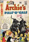 Cover for Archie's Pals 'n' Gals (Archie, 1952 series) #21