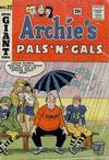 Cover for Archie's Pals 'n' Gals (Archie, 1952 series) #22