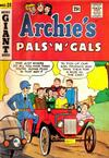 Cover for Archie's Pals 'n' Gals (Archie, 1952 series) #28
