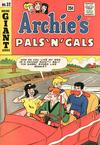 Cover for Archie's Pals 'n' Gals (Archie, 1952 series) #32