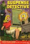 Cover for Suspense Detective (Fawcett, 1952 series) #4