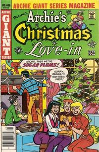 Cover Thumbnail for Archie Giant Series Magazine (Archie, 1954 series) #466