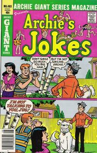 Cover Thumbnail for Archie Giant Series Magazine (Archie, 1954 series) #483
