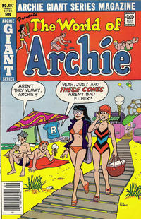 Cover Thumbnail for Archie Giant Series Magazine (Archie, 1954 series) #497