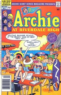 Cover Thumbnail for Archie Giant Series Magazine (Archie, 1954 series) #586 [Regular Edition]