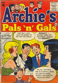 Cover Thumbnail for Archie's Pals 'n' Gals (Archie, 1952 series) #4