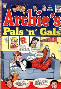 Cover Thumbnail for Archie's Pals 'n' Gals (Archie, 1952 series) #5