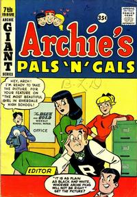 Cover Thumbnail for Archie's Pals 'n' Gals (Archie, 1952 series) #7