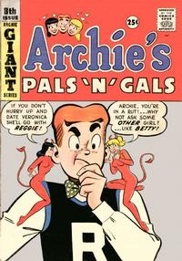 Cover Thumbnail for Archie's Pals 'n' Gals (Archie, 1952 series) #8