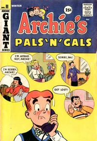 Cover Thumbnail for Archie's Pals 'n' Gals (Archie, 1952 series) #11