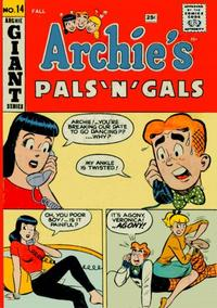 Cover Thumbnail for Archie's Pals 'n' Gals (Archie, 1952 series) #14