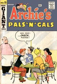 Cover Thumbnail for Archie's Pals 'n' Gals (Archie, 1952 series) #15