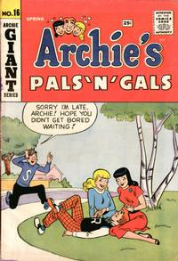Cover Thumbnail for Archie's Pals 'n' Gals (Archie, 1952 series) #16
