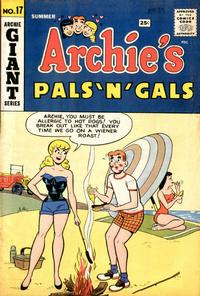 Cover Thumbnail for Archie's Pals 'n' Gals (Archie, 1952 series) #17