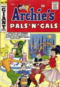 Cover Thumbnail for Archie's Pals 'n' Gals (Archie, 1952 series) #18