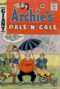 Cover Thumbnail for Archie's Pals 'n' Gals (Archie, 1952 series) #22