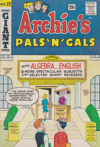 Cover Thumbnail for Archie's Pals 'n' Gals (Archie, 1952 series) #23