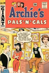 Cover Thumbnail for Archie's Pals 'n' Gals (Archie, 1952 series) #24