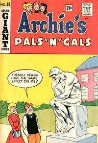 Cover Thumbnail for Archie's Pals 'n' Gals (Archie, 1952 series) #26