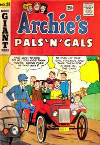 Cover Thumbnail for Archie's Pals 'n' Gals (Archie, 1952 series) #28