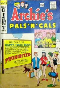 Cover Thumbnail for Archie's Pals 'n' Gals (Archie, 1952 series) #29