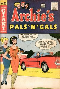 Cover Thumbnail for Archie's Pals 'n' Gals (Archie, 1952 series) #33