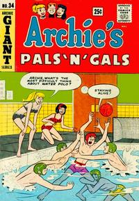 Cover Thumbnail for Archie's Pals 'n' Gals (Archie, 1952 series) #34