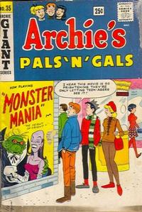 Cover Thumbnail for Archie's Pals 'n' Gals (Archie, 1952 series) #35
