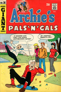 Cover Thumbnail for Archie's Pals 'n' Gals (Archie, 1952 series) #36