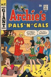 Cover Thumbnail for Archie's Pals 'n' Gals (Archie, 1952 series) #37