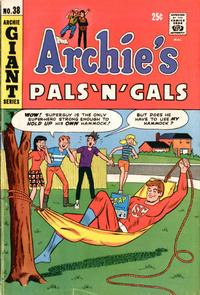 Cover Thumbnail for Archie's Pals 'n' Gals (Archie, 1952 series) #38