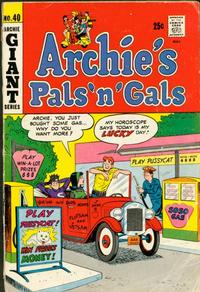 Cover Thumbnail for Archie's Pals 'n' Gals (Archie, 1952 series) #40